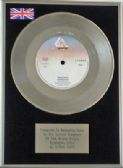 "THE STRAY CATS - 7"" Platinum Disc - RUNAWAY BOYS"